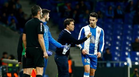 אסטבן גרנארו מקבל הוראות (La Liga)