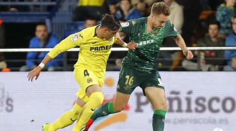 רמירו פונס מורי תופס את לורן מורון (La Liga)