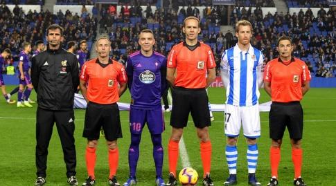 דויד סורוטוסה ויאגו אספאס לפני המשחק (La Liga)