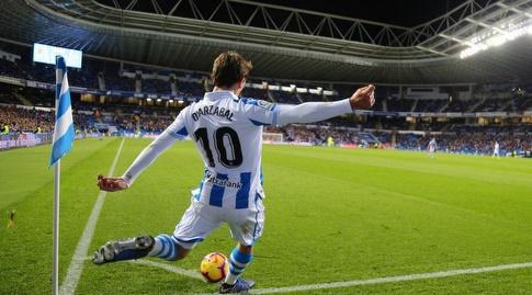 מיקל אויארסבחאל מרים כדור קרן (La Liga)