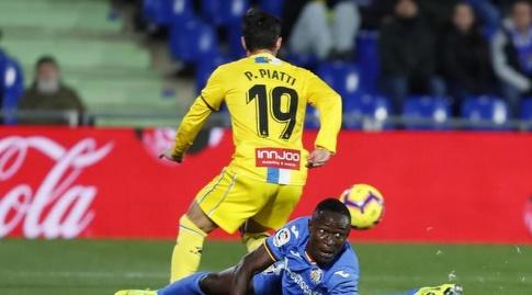 פאבלו פיאטי עם הכדור (La Liga)