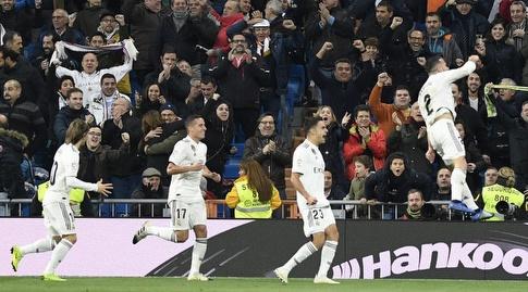 דני קרבחאל חוגג (La Liga)