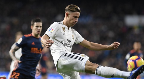 מרקוס יורנטה עם הכדור (La Liga)
