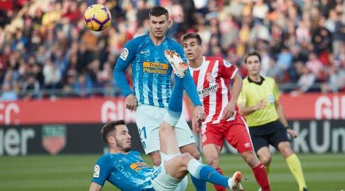 סאול מרחיק את הכדור במספגרת (La Liga)