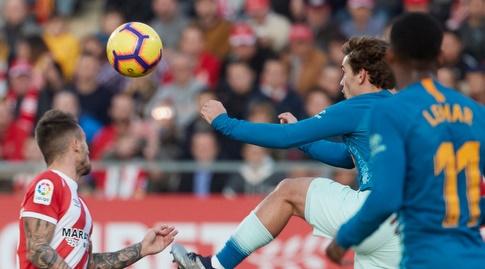 אנטואן גריזמן נוגח מול אלייש גארסיה (La Liga)