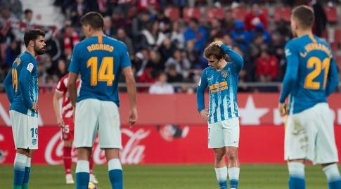 שחקני אתלטיקו מדריד מאוכזבים (La Liga)