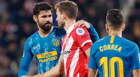 כריסטיאן סטואני ודייגו קוסטה בסיום (La Liga)