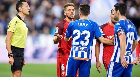 ג'וני ודניאל קאריסו מתווכחים (La Liga)