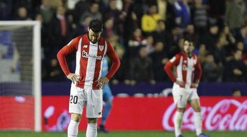 שחקני אתלטיק בילבאו מאוכזבים (La Liga)
