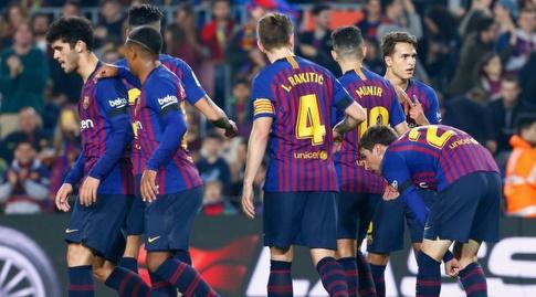שחקני ברצלונה (La Liga)