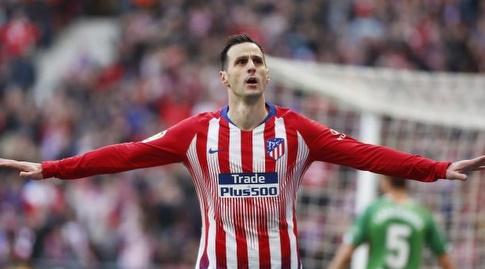 ניקולה קאליניץ' חוגג (La Liga)
