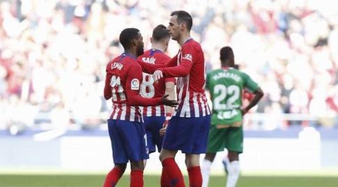 תומר למאר וניקולה קאליניץ' חוגגים (La Liga)