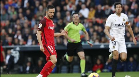 פאבלו סראביה עם הכדור (La Liga)