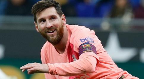 ליאו מסי. השנה הוא בעיקר חוגג (La Liga)