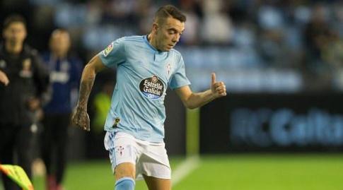 יאגו אספאס עם הכדור (La Liga)