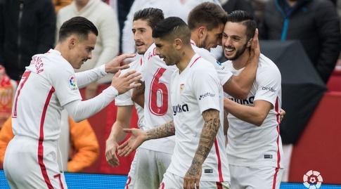 שחקני סביליה מאושרים (La Liga)