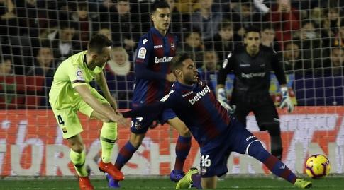 רובן רוצ'ינה גולש לכדור (La Liga)