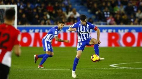 מאנו גארסיה עם הכדור (La Liga)