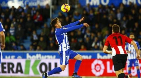 איבאי גומס עם הכדור (La Liga)