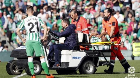 סידניי מורד על אלונקה (La Liga)