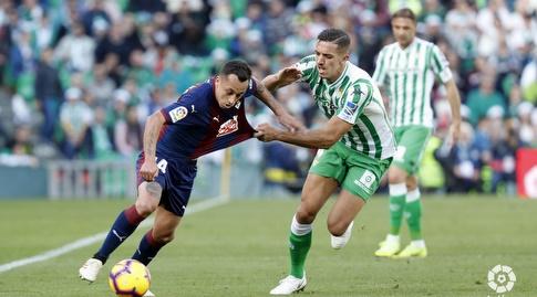 פביאן אוריאנה עם הכדור (La Liga)