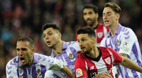 אריץ אדוריס מנסה להגיע לכדור (La Liga)