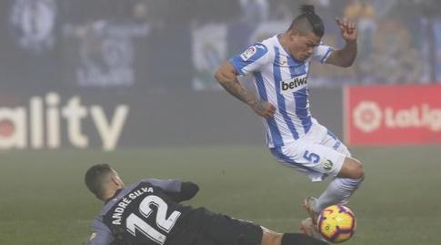 אנדרה סילבה מכשיל את ג'ונתן סילבה (La Liga)