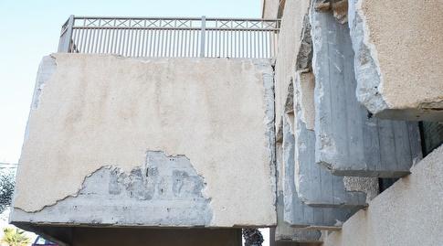 גרם מדרגות בבניין הספורט ההישגי (רדאד ג'בארה)