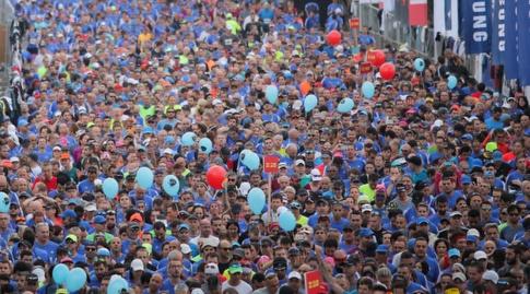 """מרתון SAMSUNG ת""""א. גם הפעם יהיה בסימן תרומה לקהילה (רדאד ג'בארה)"""