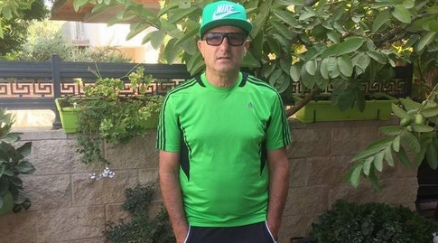 איציק אהרונוביץ'. פרגן לתקווה החדשה בכרמל (פייסבוק)