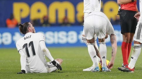 גארת' בייל על כר הדשא (La Liga)
