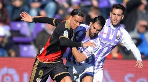 ראול דה תומאס נלחם על הכדור (La Liga)