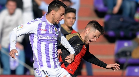 אוסקר פלאנו נלחם על הכדור (La Liga)