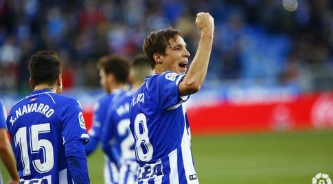 תומאס פינה חוגג (La Liga)