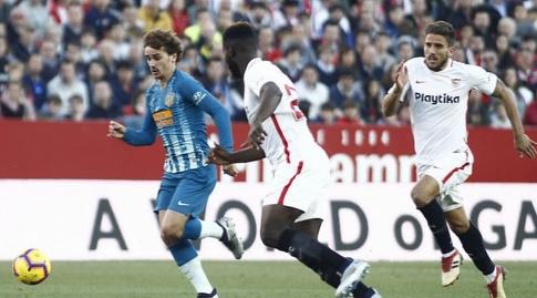 אנטואן גריזמן פורץ קדימה (La Liga)