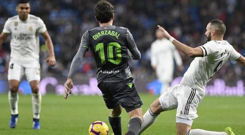 קארים בנזמה מול מיקל אויארסבאל (La Liga)