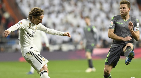 אסייר אייראמנדי מול לוקה מודריץ' (La Liga)