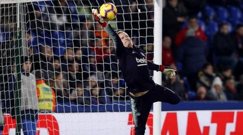 טר שטגן. צפוי לפתוח (La Liga)