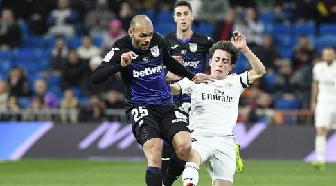 אלברו אודיוסולה גולש אל הכדור (La Liga)