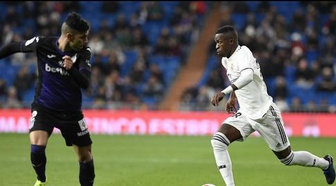 ויניסיוס ג'וניור עם הכדור (La Liga)