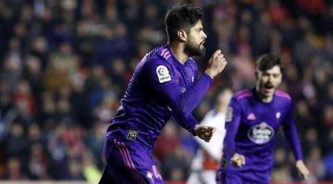 נסטור אראוז'ו חוגג (La Liga)