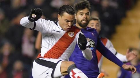 ראול דה תומאס בועט מול נסטור אראוז'ו (La Liga)