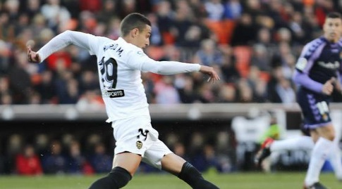 רודריגו מורנו בפעולה (La Liga)