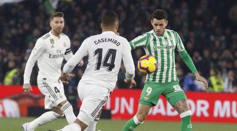 טוני סנאבריה מול קאסמירו (La Liga)