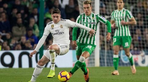 פדריקו ואלוורדה עם הכדור (La Liga)