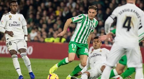 קאסמירו גולש מול חואקין (La Liga)
