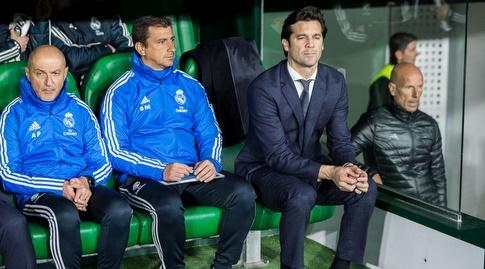 סנטיאגו סולארי על הספסל בבניטו ויימארין. חילוף מנצח (La Liga)