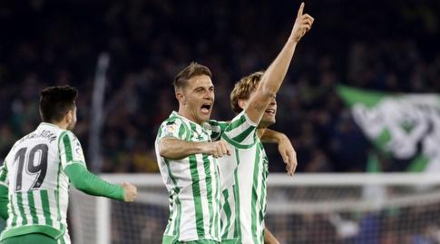 חואקין וסרחיו קנאלס חוגגים (La Liga)