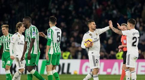 כריסטו גונסאלס ודני סבאיוס חוגגים (La Liga)