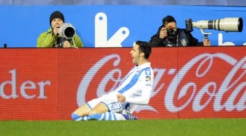 מיקל מרינו חוגג (La Liga)